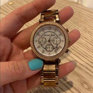MICHAEL KORS Parker Rose Gold Watch, style# MK5491